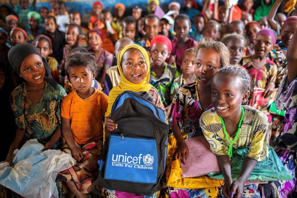 UNICEF auf den Afrika Tagen in München