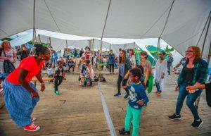 Tanzworkshop auf den Afrika Tagen München